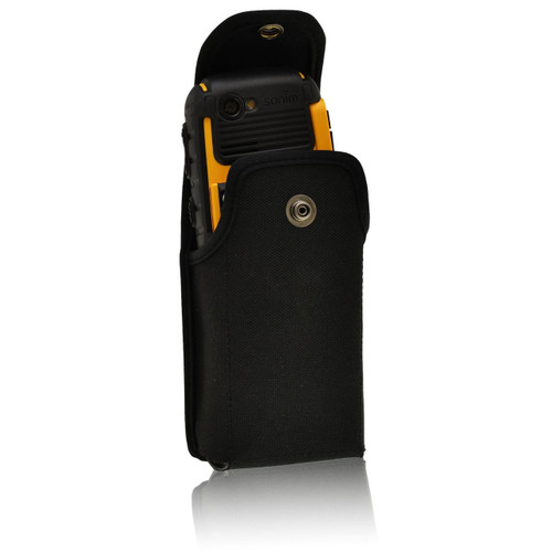 Sonim XP3410 IS XP1520 XP5560 SHIELD Vertical Nylon Holster Pouch, Metal Belt Clip by Turtleback