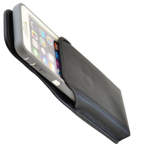 iPhone 6 Plus/6S Plus Extended  Vertical Leather Rotating Clip Holster