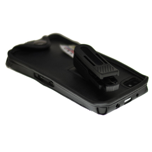 Blackberry Z10 Executive Black Leather Case with Ratcheting Belt Clip