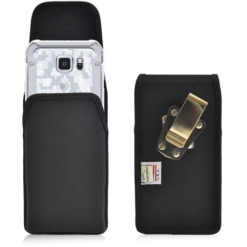 Galaxy S6 Active Vertical Nylon Rotating Clip Holster