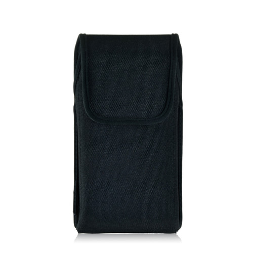 Droid Turbo 2 Vertical Nylon Holster Clip Fits Bulk Cases