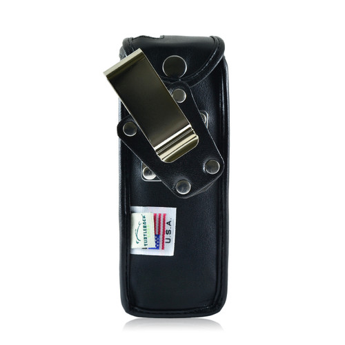H375I Leather Phone Case with Metal Belt Clip