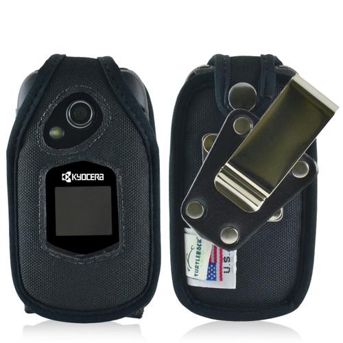 Kyocera DuraXTP Nylon Fitted Case, Metal Belt Clip