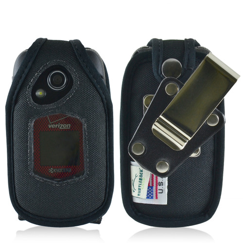 Kyocera DuraXV+ Plus Nylon Fitted Case, Metal Belt Clip
