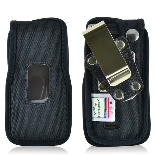 LG Exalt 2 VN370 Nylon Fitted Phone Case, Metal Belt Clip