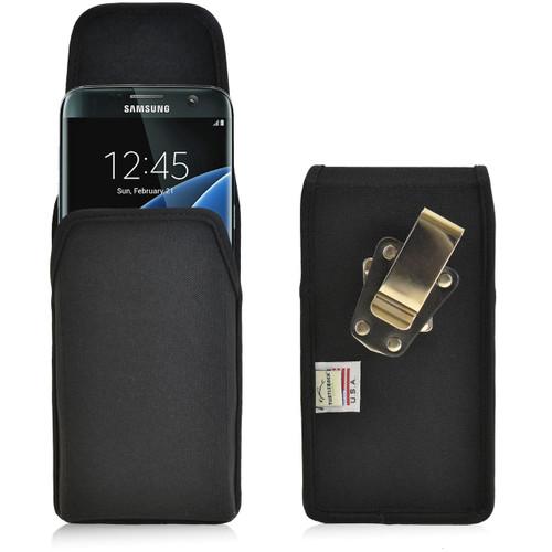 Galaxy S7 Edge Vertical Nylon Rotating Clip Holster