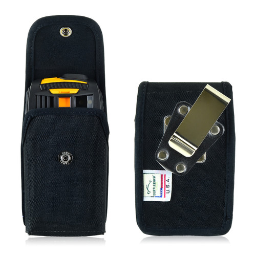 RugGear Swift Plus RG220 Nylon Snap Closure Holster, Metal Belt Clip