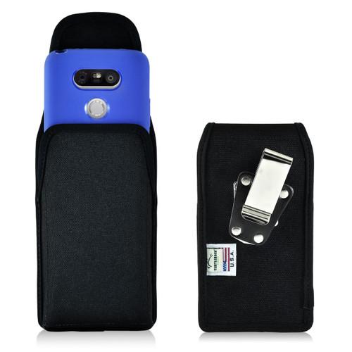 Turtleback LG G5 Vertical Nylon Holster Case, Metal Belt Clip