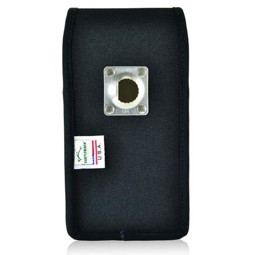 Mophie Juice Pack iPhone 6S+ Plus Belt Case Juice Pack Air, Space iPhone 6S+ Plus Belt Clip Case with Heavy Duty Metal Rotating Belt Clip, Vertical Black Nylon Pouch - Magnetic Flap Closure