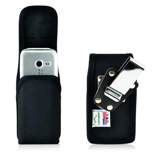 Doro PhoneEasy 626 Holster Metal Belt Clip Case Pouch Nylon