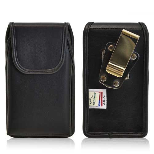 iPhone 5/5S/SE (1st Gen) Extended Vertical Leather Rotating Clip Holster