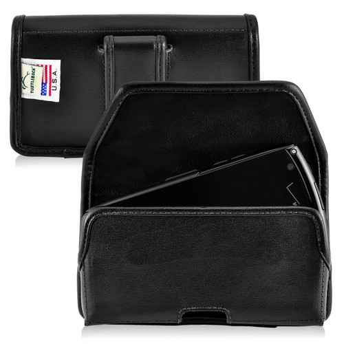 Kyocera Brigadier E6782 Holster Black Belt Clip Case Pouch Leather