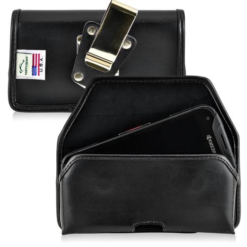 Kyocera DuraForce PRO Holster Metal Belt Clip Case Pouch Leather Horizontal