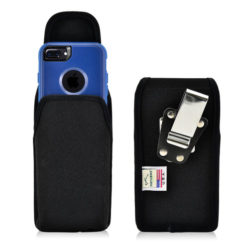iPhone 6S Nylon VerticalHolster Metal belt Clip Case Fits with OTTERBOX Commuter