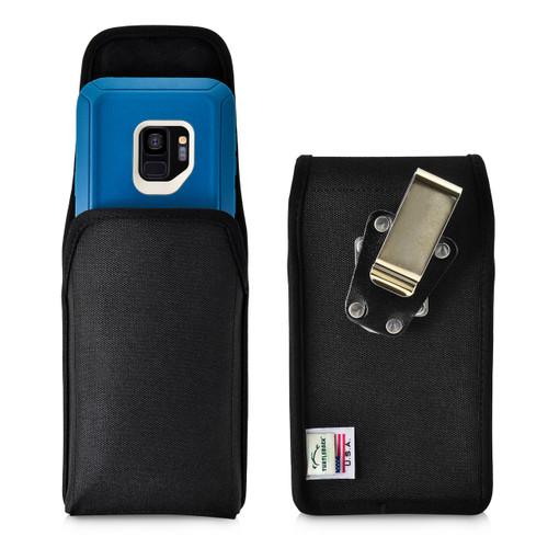 Galaxy S9 Vertical Belt Clip Case made for Otterbox DEFENDER Case Rotating Belt Clip Black Nylon