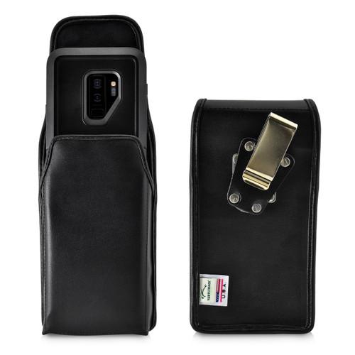 Galaxy S9 Plus Vertical Belt Case for Otterbox PURSUIT Case Rotating Belt Clip Pouch