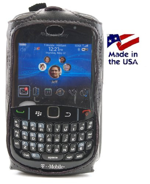 BlackBerry Curve 3G 8520 8530  Executive Fitted Case - Made in USA