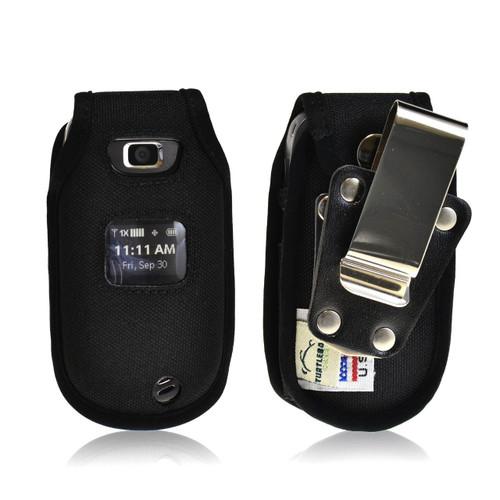 LG Revere 2 Heavy Duty Nylon Phone Case with Rotating Metal Belt Clip