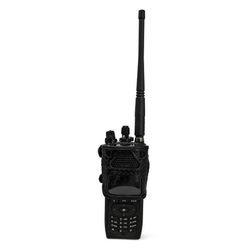 L3Harris XL-200P ATT Global LTE FirstNet Duty Belt Clip Basket Weave Leather Fits STANDARD, EXTENDED BATTERY