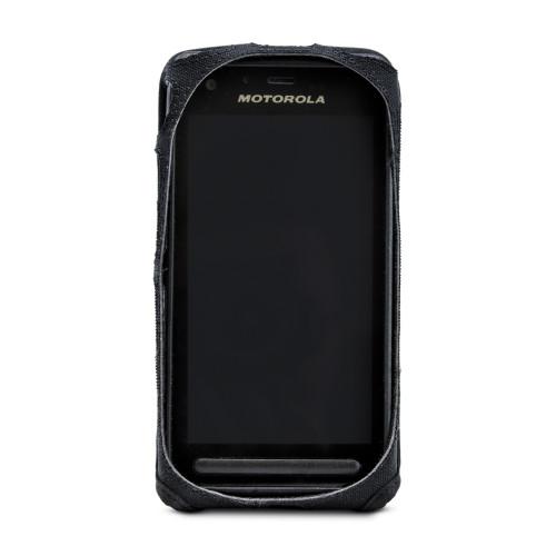 Motorola Lex L11 Fitted Phone Case Black Nylon Metal Clip Turtleback
