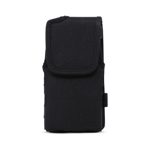 JVC Kenwood KWSA80K Holster Pouch, Vertical Nylon Case with Rotating Belt Clip & Magnetic Closure