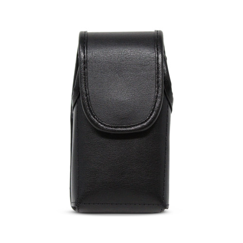 Kyocera DuraXV Extreme Belt Holster Case Black Leather Pouch with Executive Belt Clip