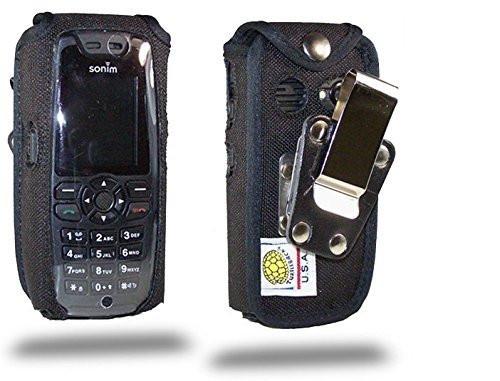Sonim XP 3.2 Quest Heavy Duty Nylon Fitted Case, Metal Belt Clip by Turtleback
