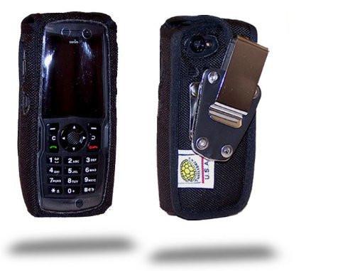 Sonim XPStrike Heavy Duty Nylon Fitted Case, Metal Belt Clip by Turtleback