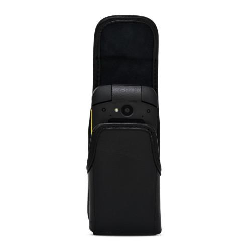 Sonim XP3plus Holster Belt Clip Vertical Belt Case Black Leather Executive Clip
