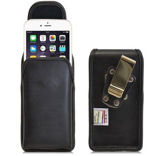 Apple iPhone 6 (4.7 in.) Vertical Leather Holster, Metal Belt Clip
