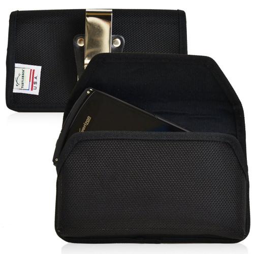 Apple iPhone SE(1st Gen), 5, 5S, 5C, 4 Nylon Holster Metal Clip For Bulky Cases