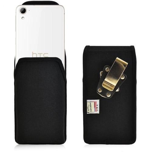 HTC Desire 826 Vertical Nylon Holster, Metal Belt Clip