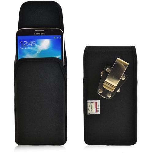 Samsung Galaxy Mega 6.3 Vertical Nylon Holster, Metal Belt Clip