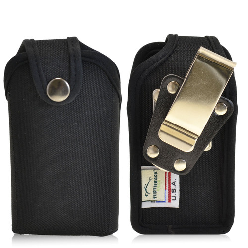 """Small Vertical PDA Heavy Duty Nylon Pouch - Fits devices 4"""" X 2"""" X 1"""""""