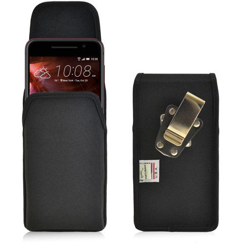 HTC One A9 Vertical Nylon Holster Metal Clip