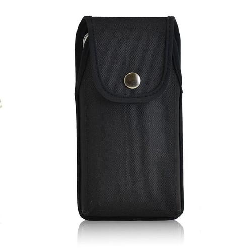 Universal Vertical Nylon Holster Case, Metal Belt Clip