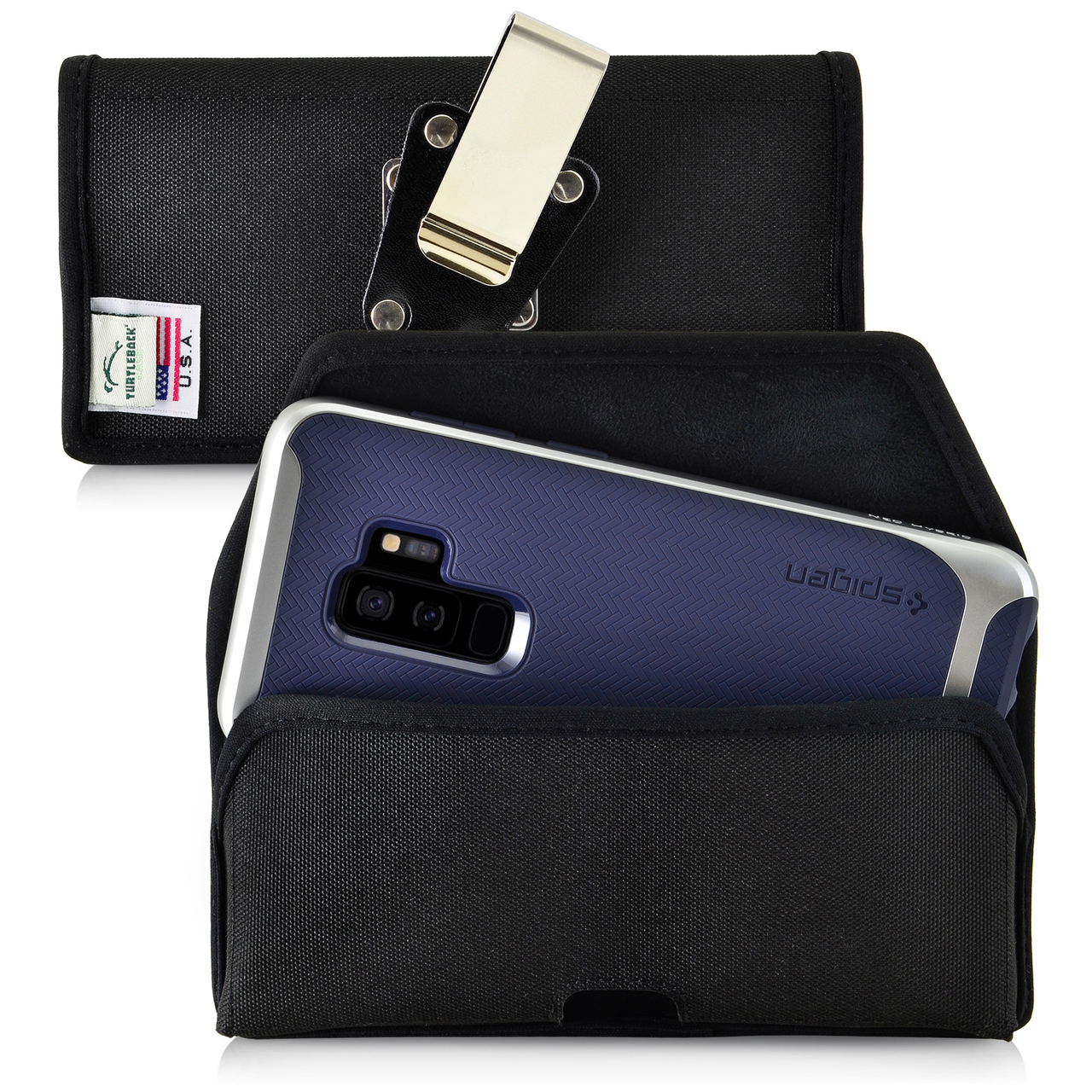 the best attitude 05f27 ec87e Galaxy S9 Plus / S8 Plus Nylon Holster Case Metal Belt Clip