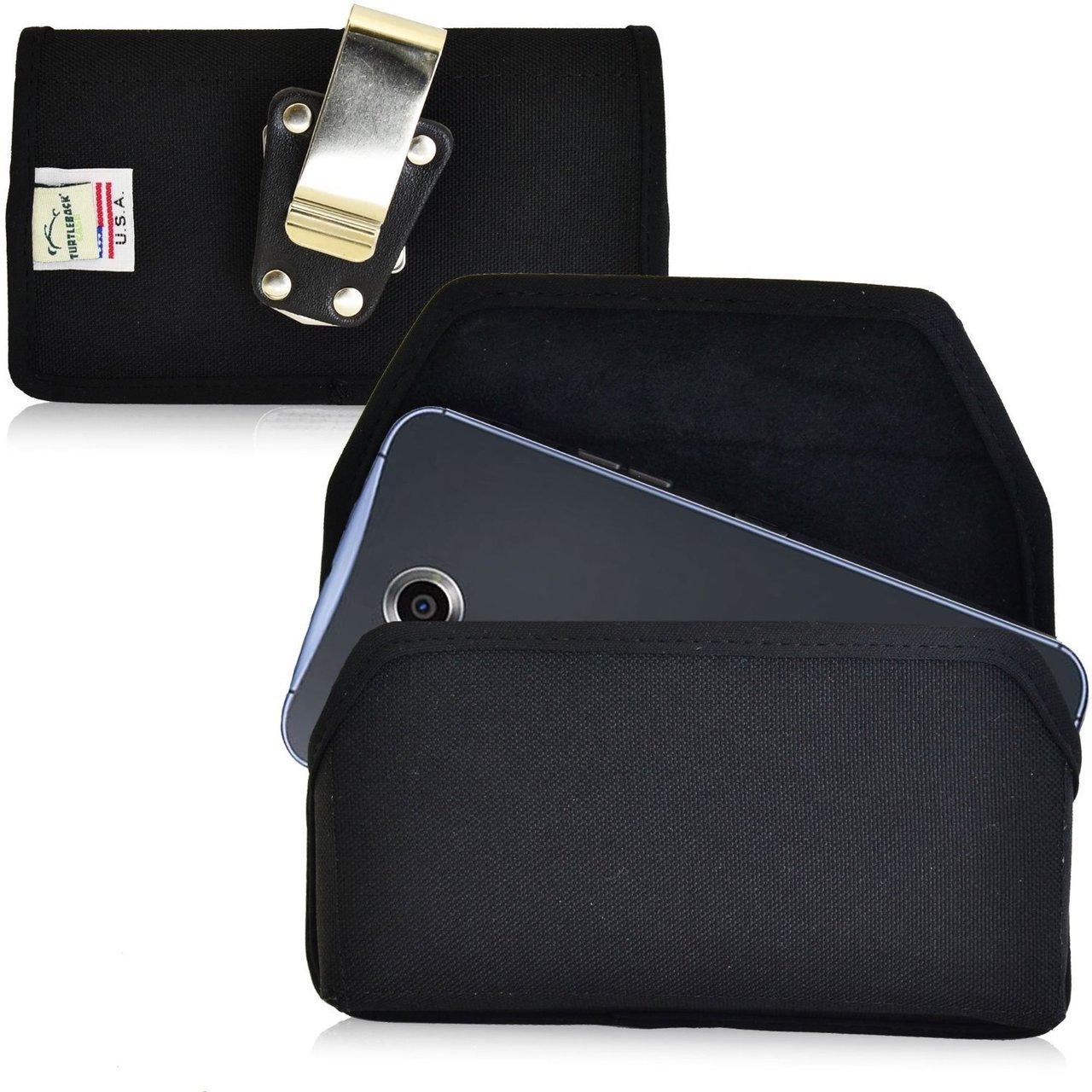 detailed look 6ae87 b3106 Google Nexus 6 Horizontal Nylon Holster, Metal Belt Clip