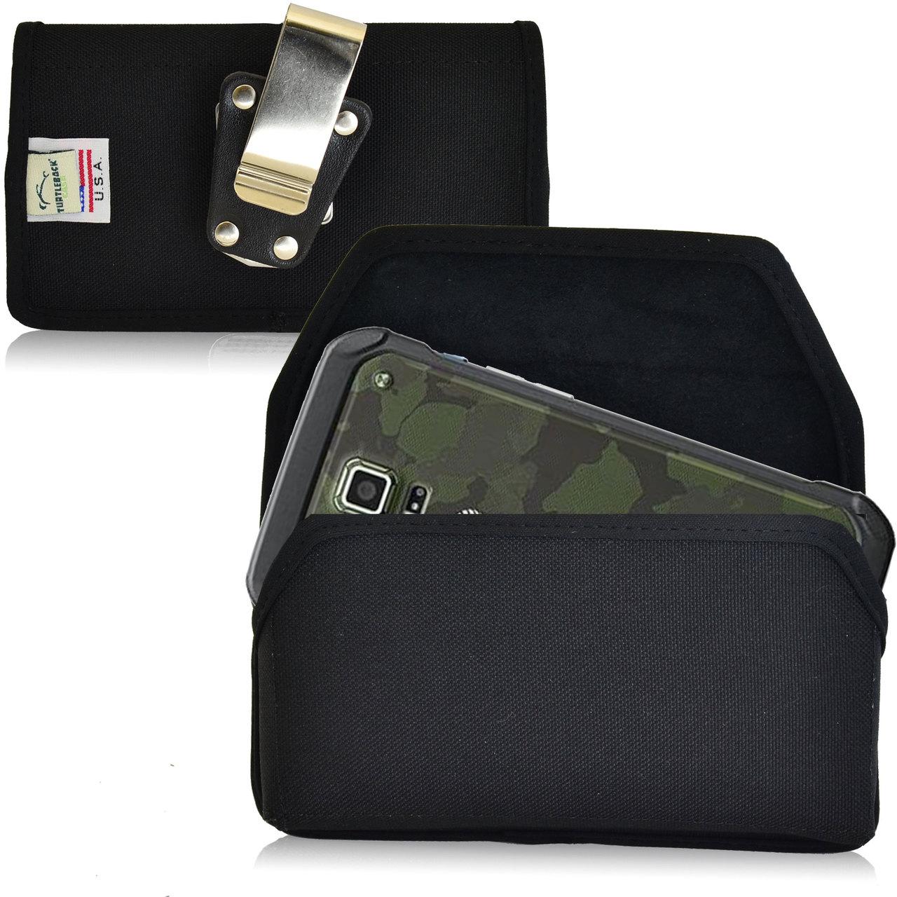 promo code 37c69 d51e6 Samsung Galaxy S5 Active Horizontal Nylon Holster, Metal Belt Clip