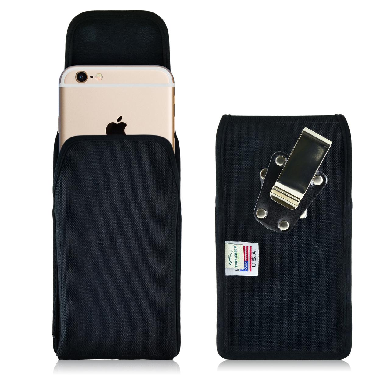 new product d2c89 e3c3e iPhone 6 Plus/6S Plus Vertical Nylon Rotating Clip Holster