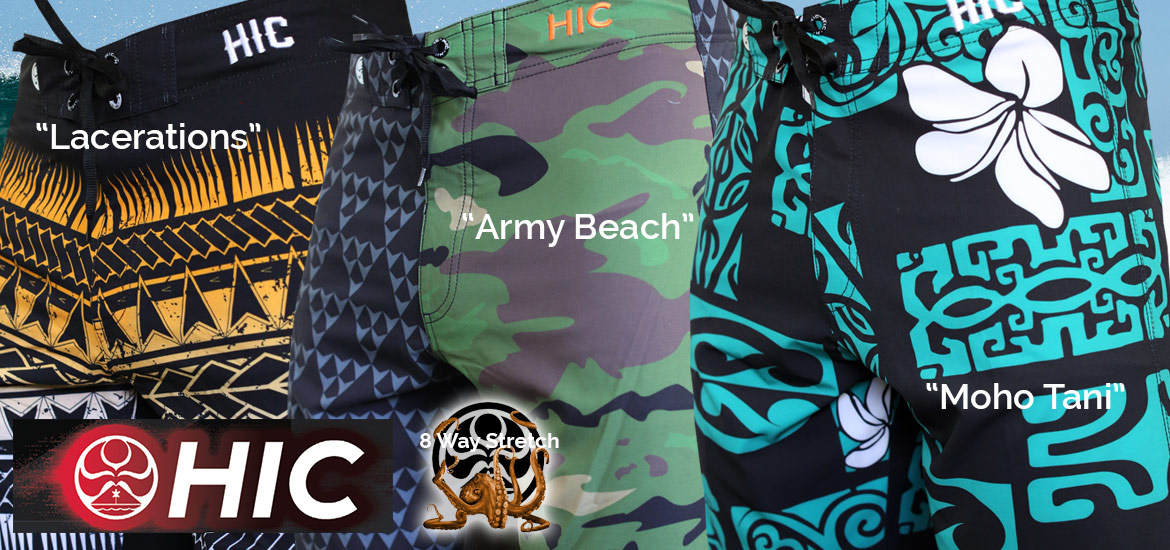 Nesest HIC Board Shorts - Enjoy the Ride!