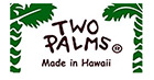 Two Palms Brand, Puanani Label Made in Hawaii.