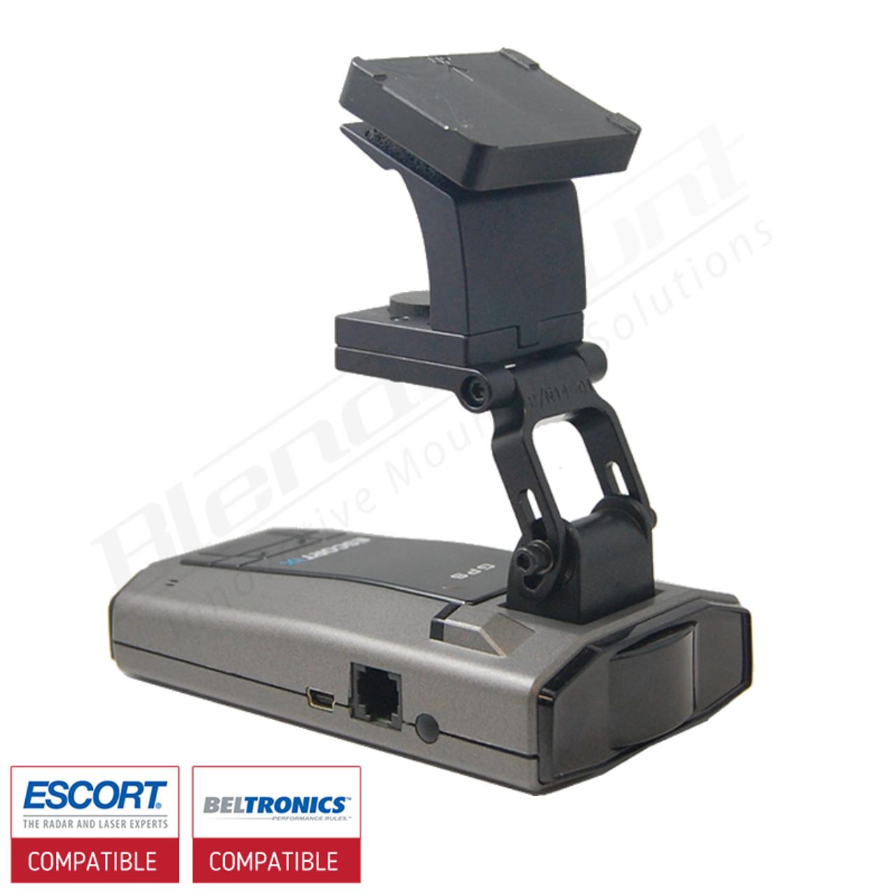 Aluminum Radar Detector Mount for Bel GT-360/Escort Max 360c/RedLine EX,  iX, Specialty Series, Corvette C6