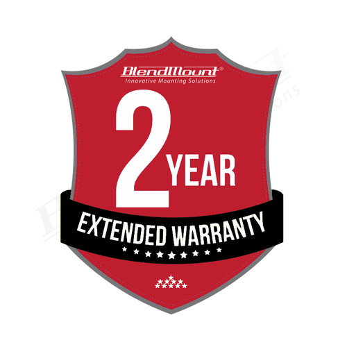 2-Year Extended Warranty - BlendMount C8 Specialty Series