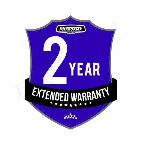 2-Year Extended Warranty - MirrorTap Power Cord MTX Series