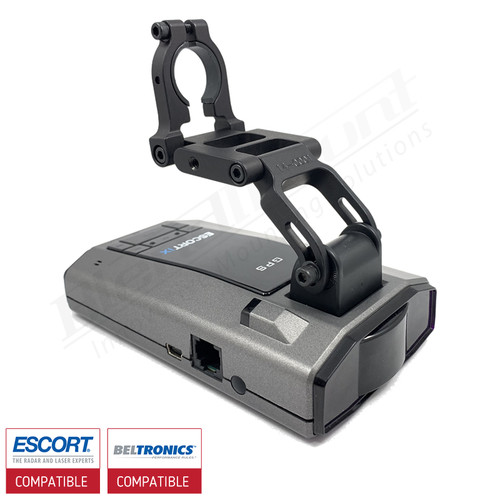 BlendMount BMG-2000R Escort Radar Detector Mount with Escort IX view 1