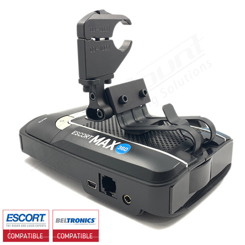 Aluminum Radar Detector Mount for Beltronics GT/Escort Max 360, Max2/Max/Max II, Specialty 2018 Series