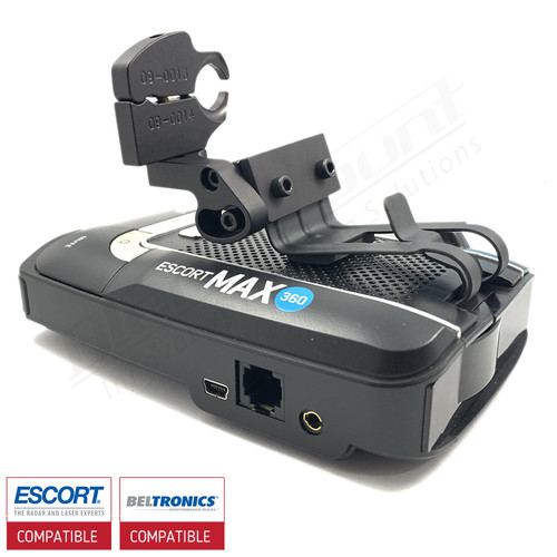 Aluminum Radar Detector Mount for Beltronics GT/Escort Max 360, Max2/Max/Max II, Specialty 2021 Series