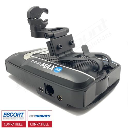 Aluminum Radar Detector Mount for Beltronics GT/Escort Max 360, Max2/Max/Max II, Specialty 2023 Series