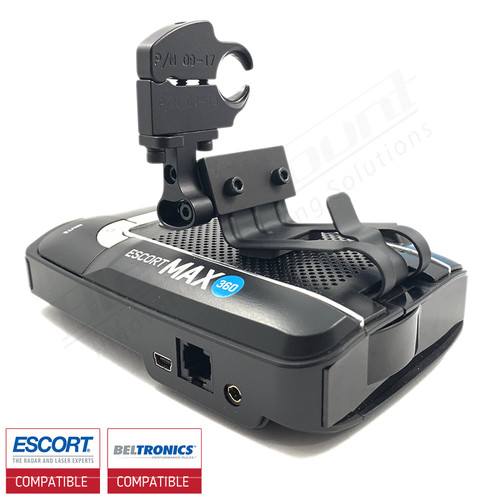 Aluminum Radar Detector Mount for Beltronics GT/Escort Max 360, Max2/Max/Max II, Specialty 2025 Series